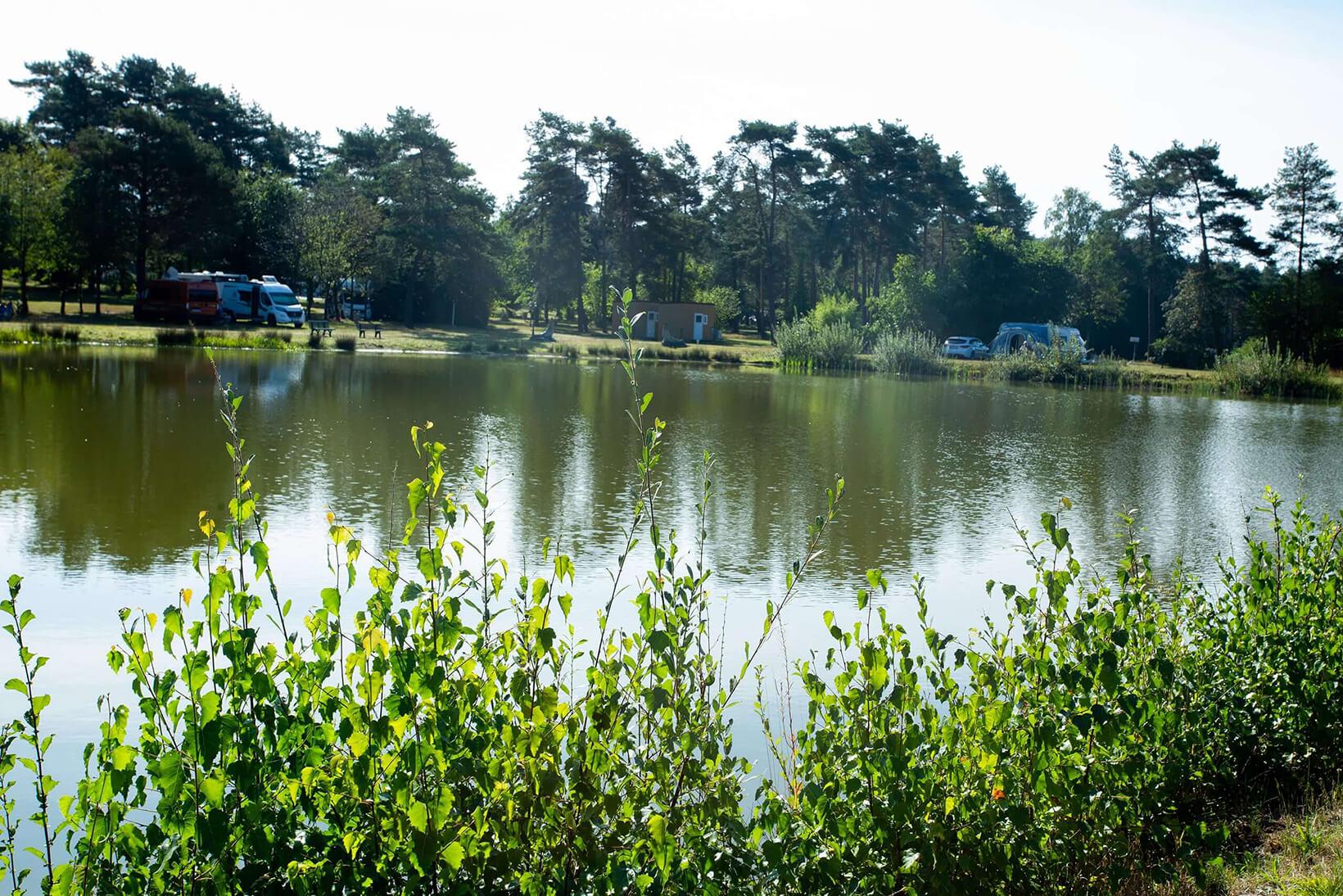 Naturcamping Lüneburger Heide – Badesee